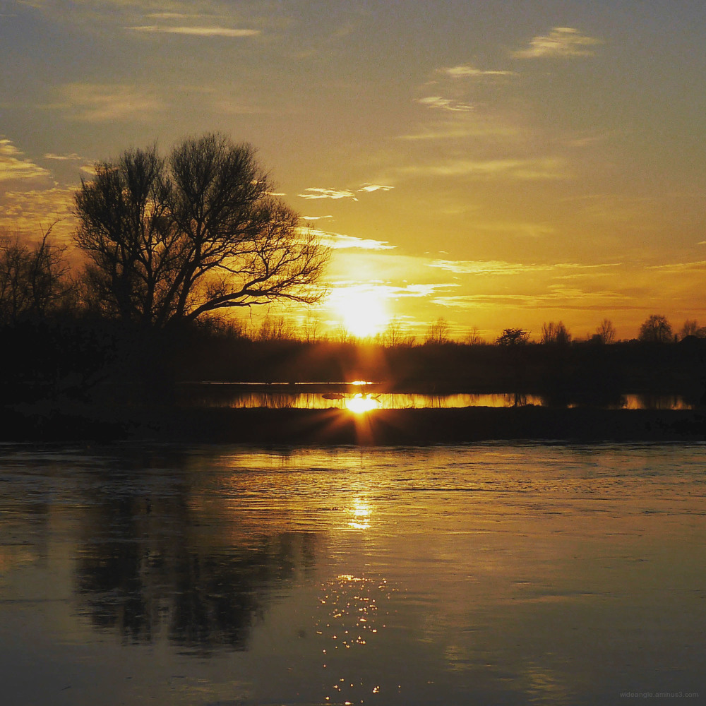 sunset shardlow march spring golden