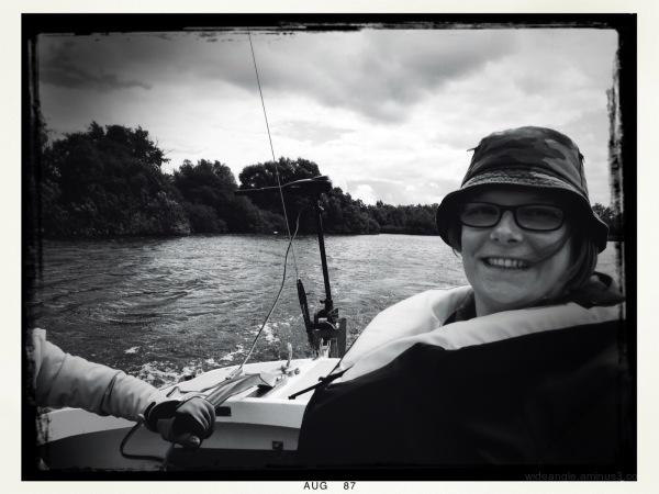 Sailing karen Norfolk broads