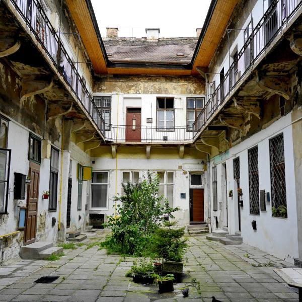 Crumbling Courtyard, Budapest