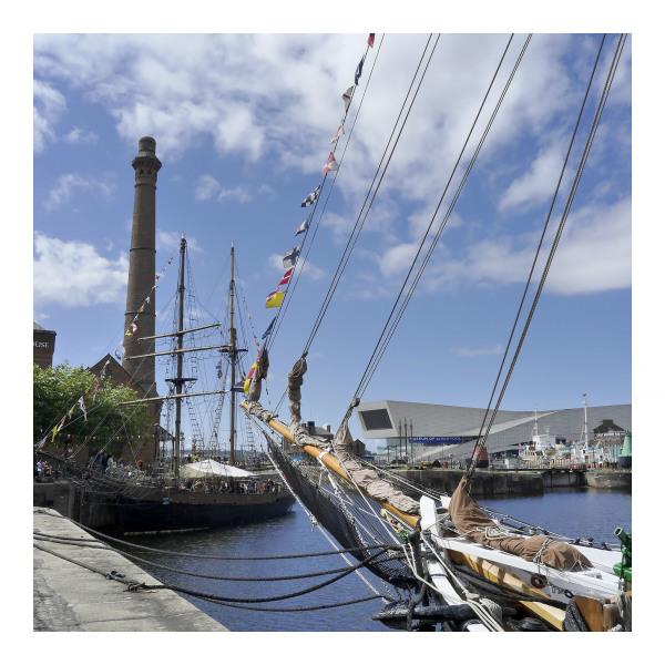 Tall Ships in Albert Docks