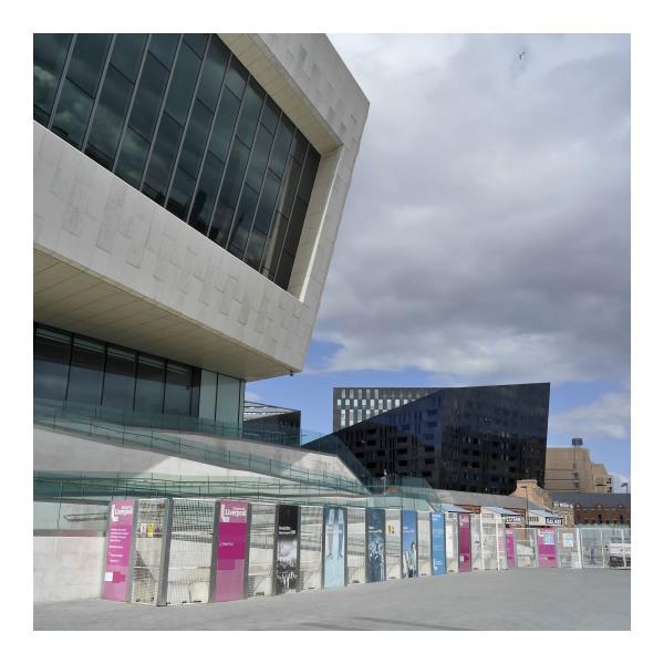 New Architecture in Liverpool Albert Docks Area