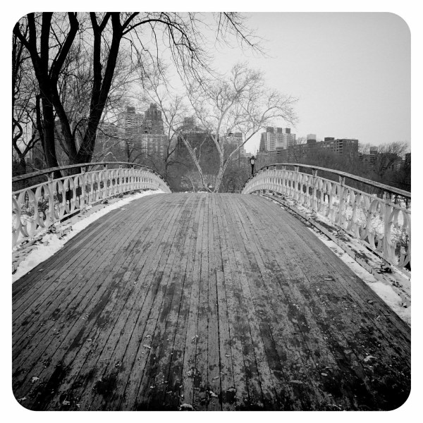Footbridge in Central Park