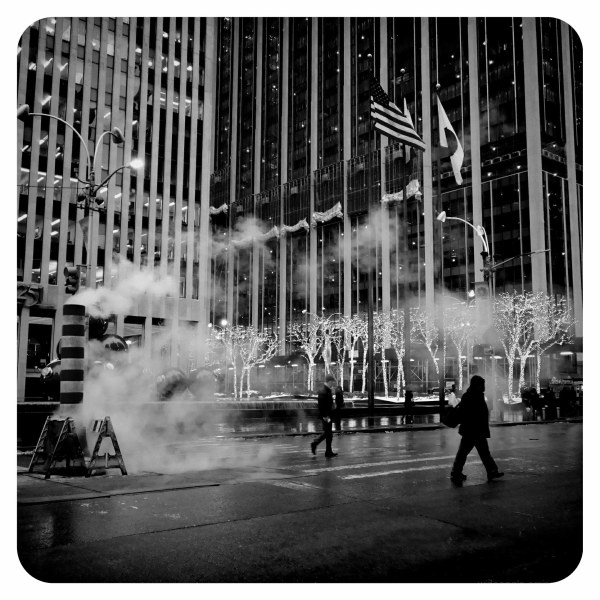 new york city streets urban frozen metropolis b&w