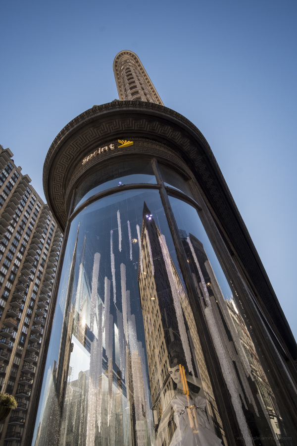 Domed Reflection by the Flatiron