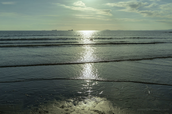 Late Sunshine at Broad Haven