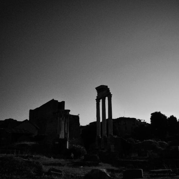 Ruins around Rome