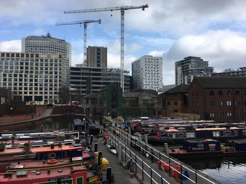 Birmingham developments skyline