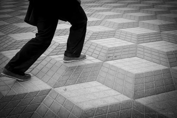 Street Climbing on the Flat Pavement