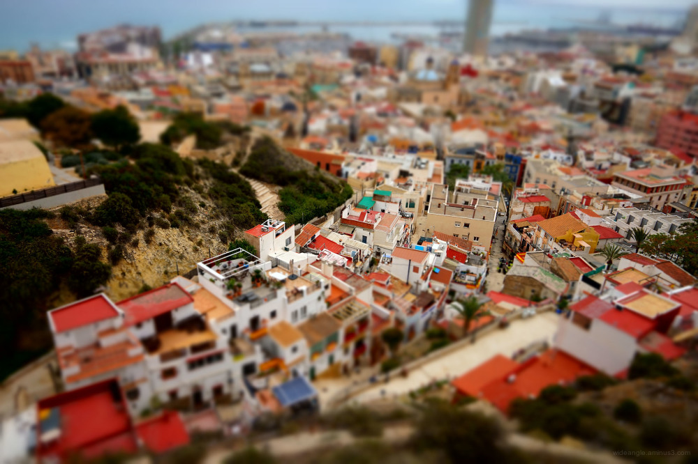 alicante weather city scenes
