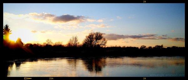 Late Sunshine from Shardlow Old Bridge