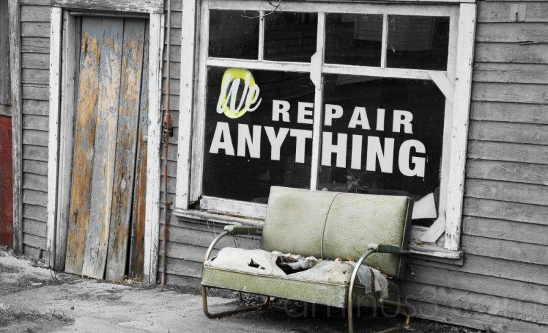 we repair everything..