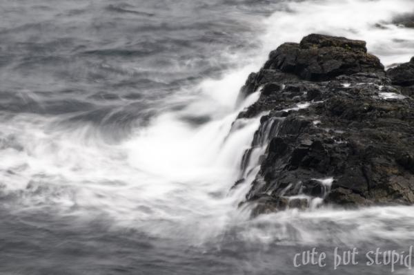 stormy seas..