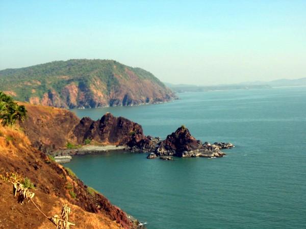 A View of the Arabian Sea in Goa
