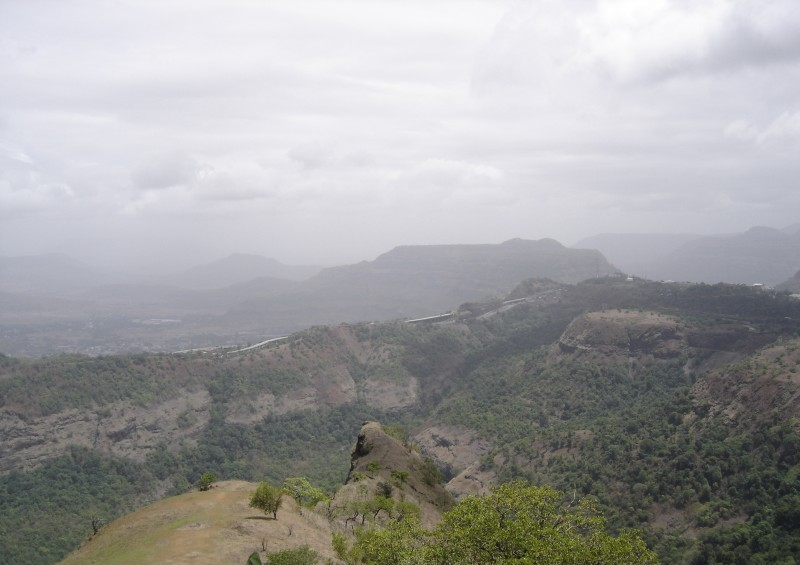 Hilly ranges of the Western Ghats