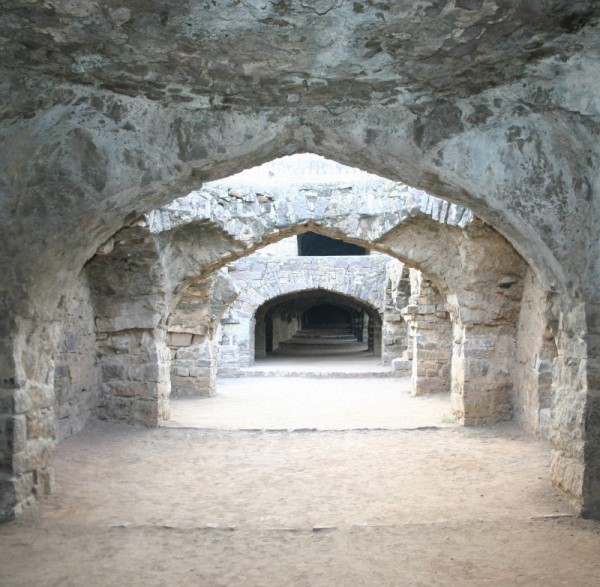 Stables at Golconda Fort in Hyderabad
