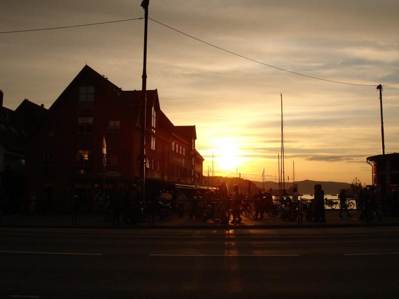 Summer in Bryggen, Bergen