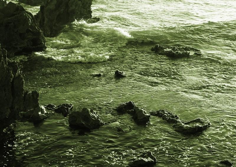 Tidal rock pool