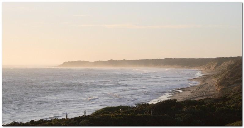 Surf fishing Ademella dunes