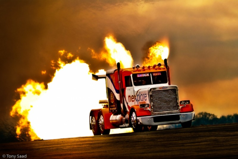 Shock Wave Truck, Smyrna Airshow