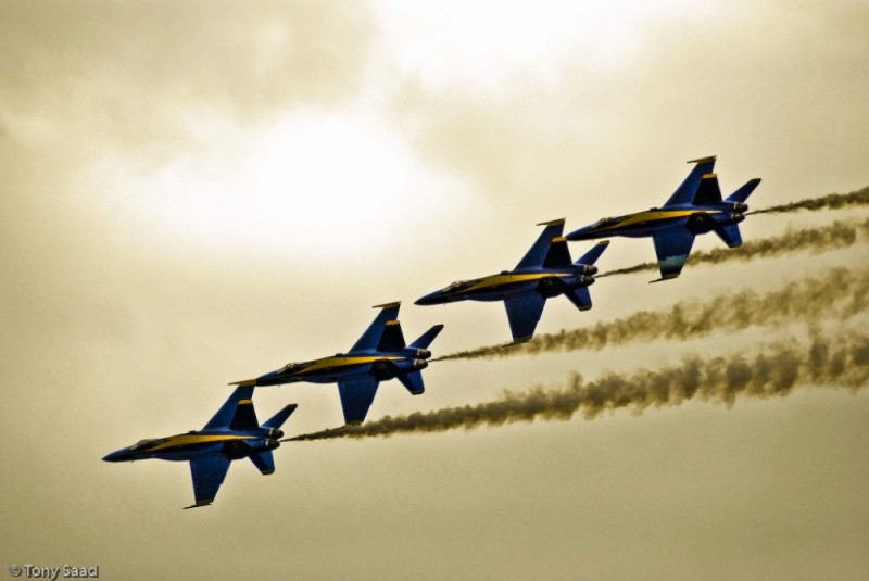 F18 Hornet - The Blue Angels