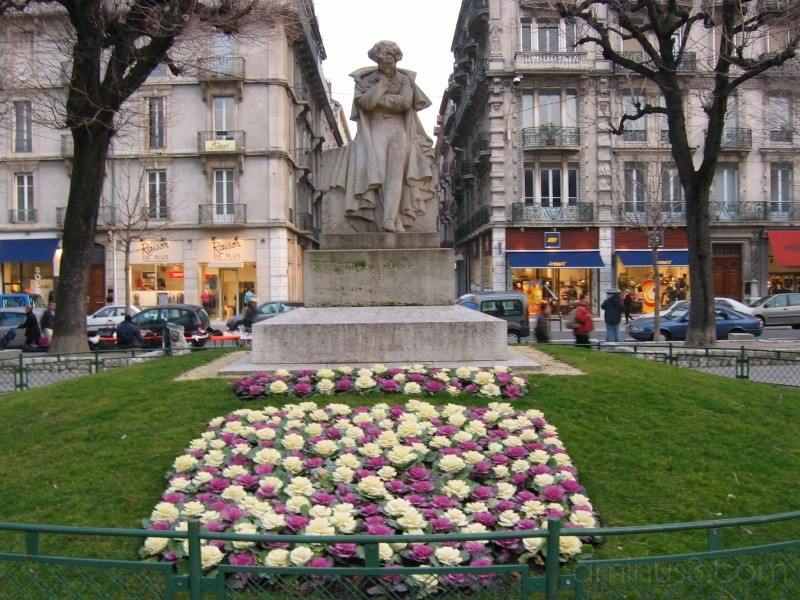 Victor Hugo, Grenoble, France