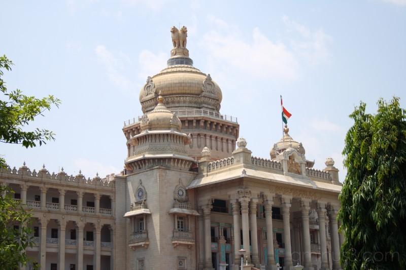 State legislature building of Karnataka.