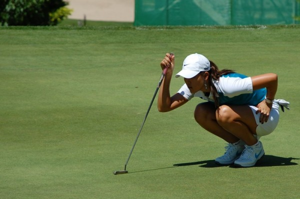 Evian Masters 2007 - Michelle Wie (USA) - Reading