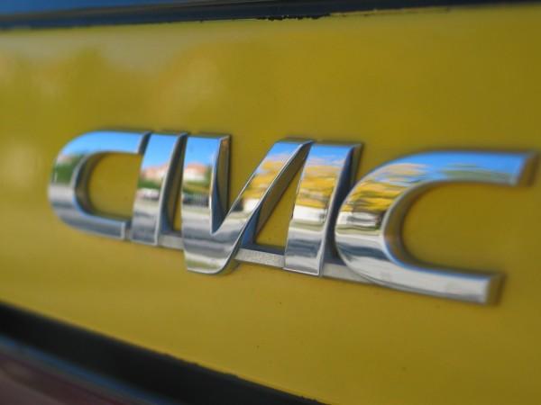emblem on honda civic