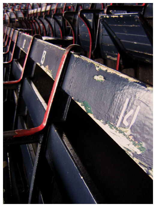 original seats @ Fenway Park