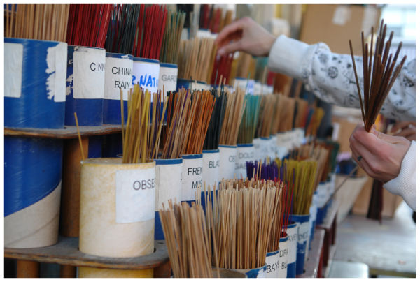 incense at kensington market