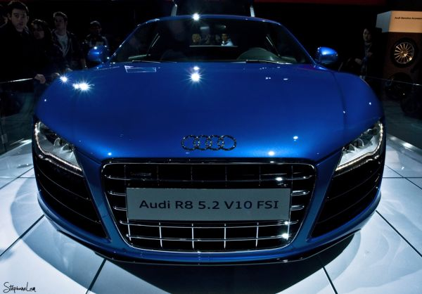 Audi R8 at the Toronto Auto Show