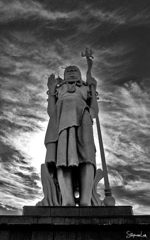 Shiva stands tall in Grand Bassin, Mauritius