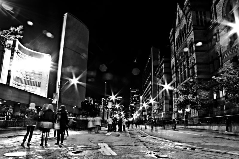 Bay Street for Nuit Blanche, 2009