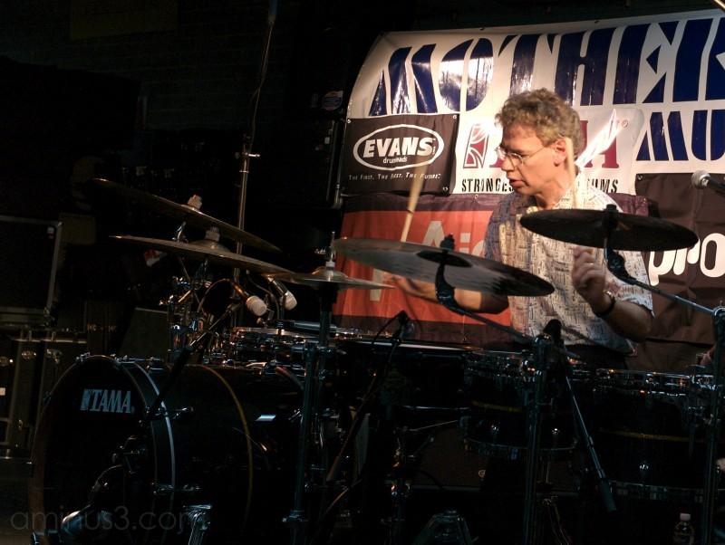 Bill Bruford Performs Drums Winnipeg Canada