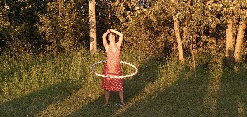 woman hula hoop folk festival winnipeg