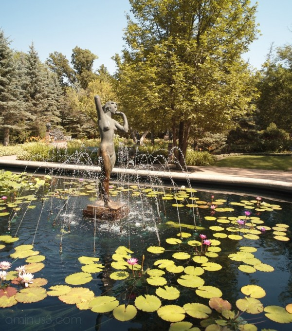 Mol Garden Sculpture Winnipeg Manitoba Canada