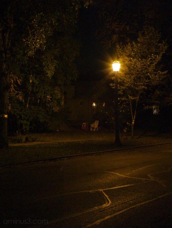 winnipeg night home autumn