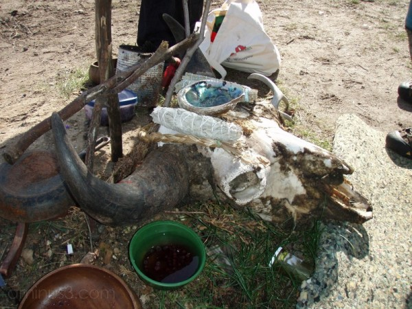 First Nations Sweat Lodge Offerings