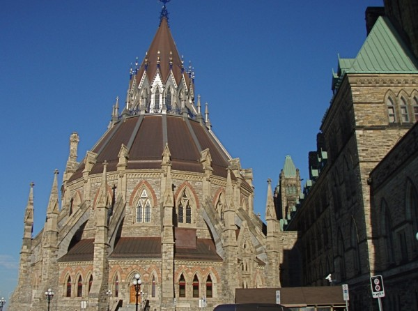 Parliamentary Library, Ottawa Canada