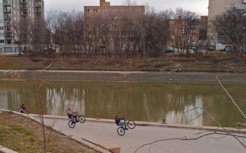 Assiniboine River Bike Riders