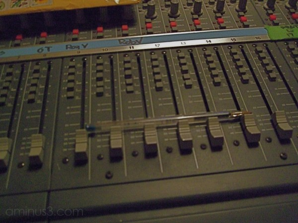 recording studio mixing board winnipeg