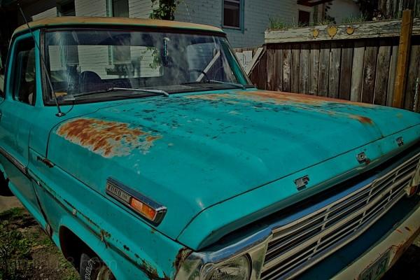old ford truck, wolseley, winnipeg