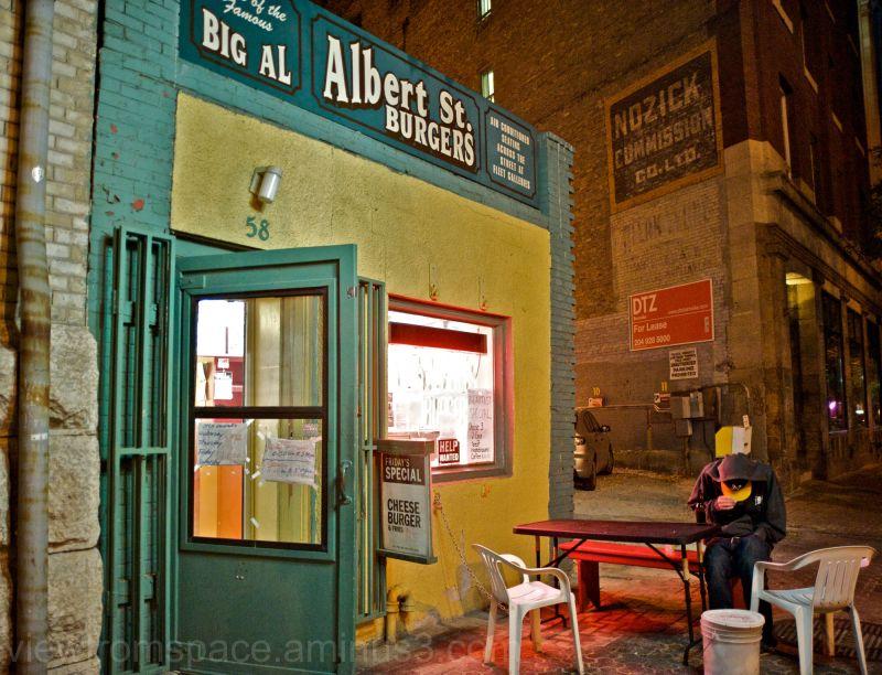 big al burgers exchange district winnipeg