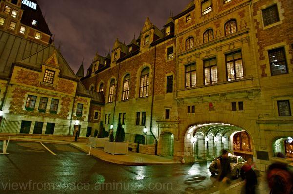 quebec city chateau frontenac hotel