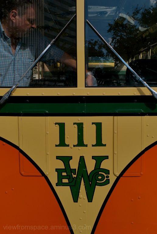 antique winnipeg transit bus