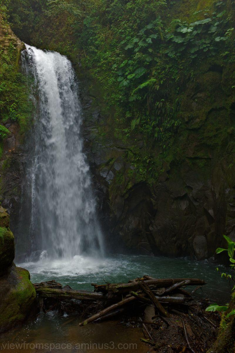 costa rica falls near poas