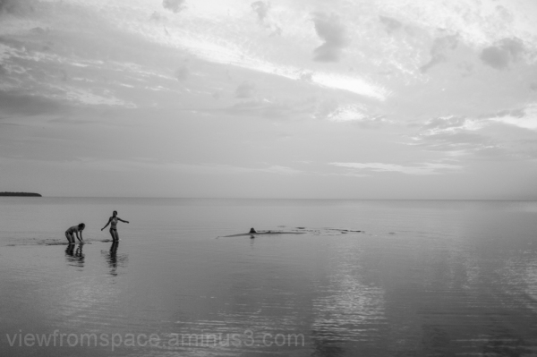 lake winnipeg flat prairie  eelshark summer