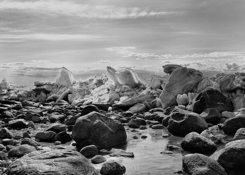lake winnipeg ice spring breakup mono