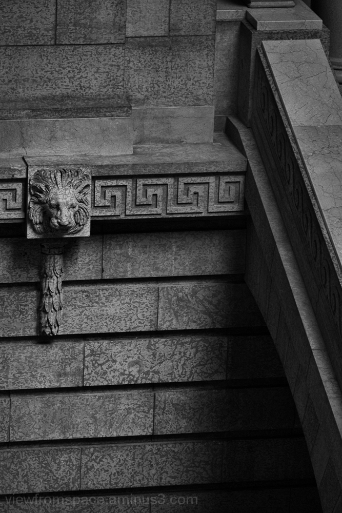 Manitoba Legislature Monochrome stone Winnipeg Can