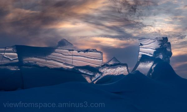 murs de glace